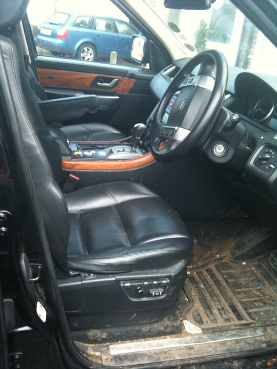 Interior before
